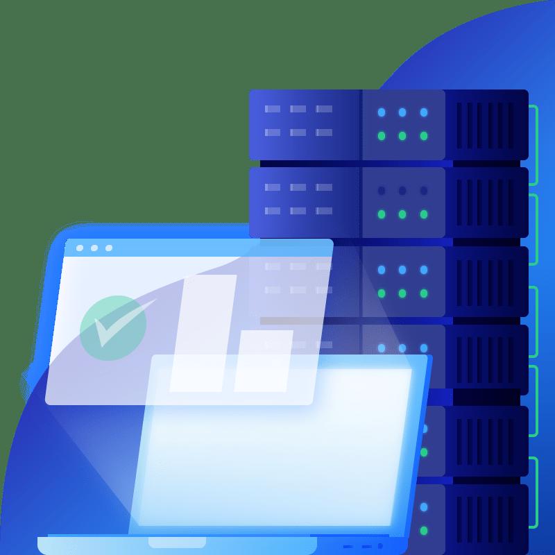 Server and computer image