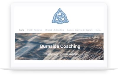 Burnside Coaching website