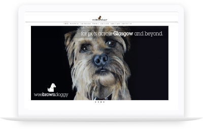 Wee Brown Doggy website